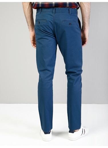 Colin's Slim Fit Orta Bel Slim Leg Erkek Haki Pantolon İndigo